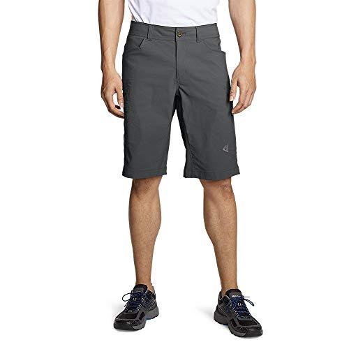 Eddie Bauer Men's Guide Pro Shorts, Dk Smoke Regular 33