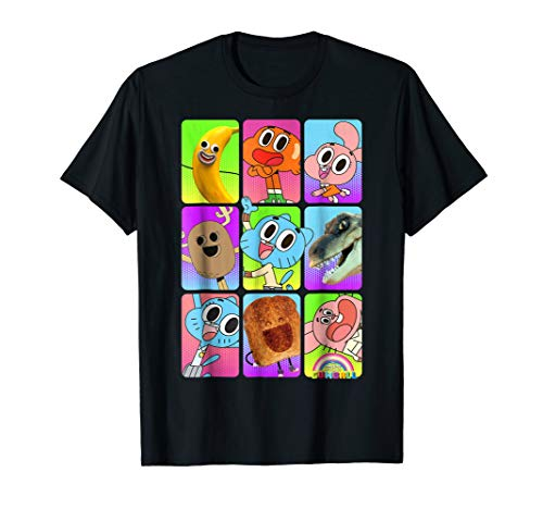 CN Amazing World of Gumball Cast Pictures Graphic T-Shirt