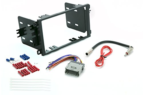 Install Centric ICGM8BN Compatible with Select GM 1992-12 Double DIN Complete Basic Installation Solution for Installing an Aftermarket Stereo