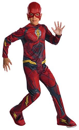 Rubie's Costume Boys Justice League The Flash Costume, Small, Multicolor