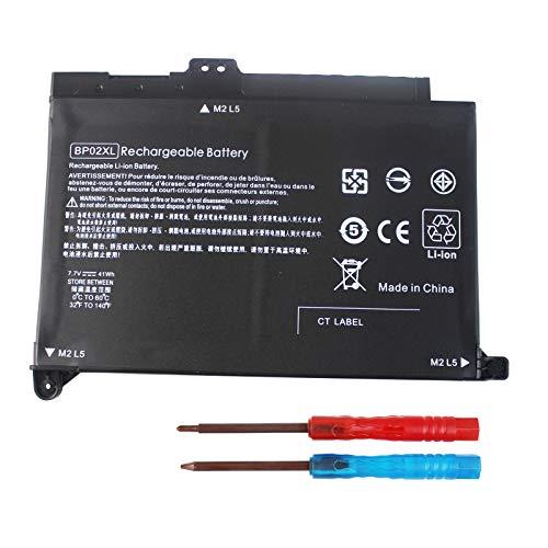 BP02XL 849909-850 Laptop Battery Compatible with HP Pavilion PC 15 Series 15-AU000 15-AU010WM 15-AU018WM 15-AW000 15-AU123CL 15-AW053NR Series HSTNN-UB7B HSTNN-LB7H 849569-421 849569-542 849909-855