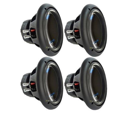 Planet Audio 4 AC10D 10' 6000W Power Car Audio Subwoofers Power Subs Woofers