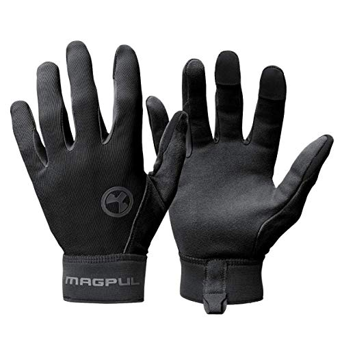 Magpul Technical Glove 2.0 Lightweight Work Gloves, Black, Medium