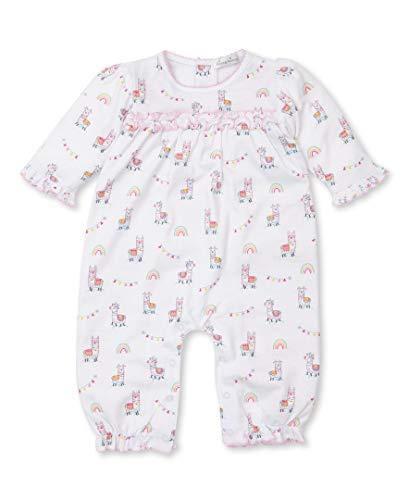 Kissy Kissy Baby-Girls Infant Fun-Loving Llamas Print Playsuit-Multicolored-12-18 Months