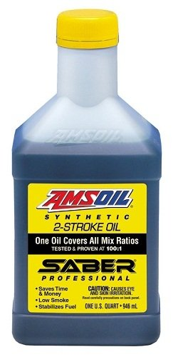 AMSOIL Saber Professional Synthetic 2-Stroke Oil 1 qt (32 oz)