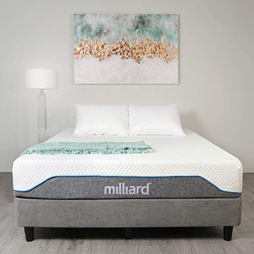 Milliard Memory Foam Mattress 10 inch Firm, Classic (Queen) 60x80x10 in