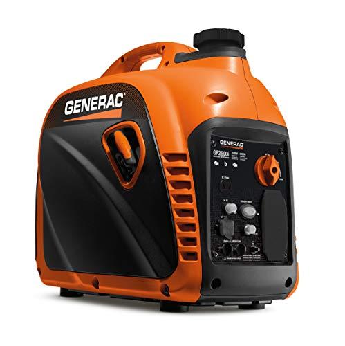 Generac GP2500i Inverter, Orange, Black