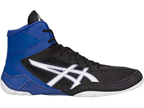 ASICS Men's Matcontrol Wrestling Shoes, 12M, Black/White