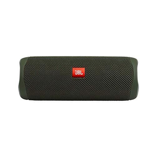 JBL FLIP 5, Waterproof Portable Bluetooth Speaker, Green (New Model)