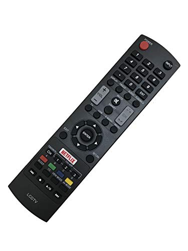 New Remote Control Replacement fit for Sharp LCD TV LC-43UB30U LC-50UB30U LC-55UB30U LC-65UB30U