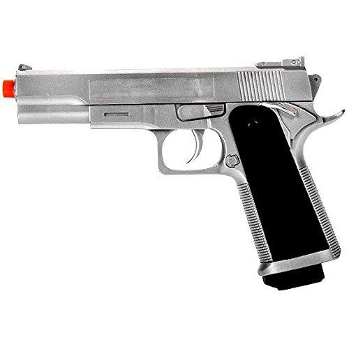 G153S M1911 Airsoft Spring Pistol Handgun Silver 1911