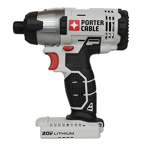 Porter Cable 20v Max Lithium Ion 1/4' Hex Impact Driver (PCC641 Bare Tool)