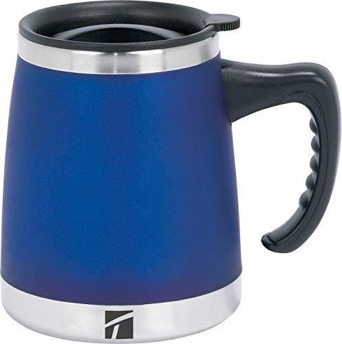 Trudeau Maison Umbria Desk Mug, 15 oz, Blue