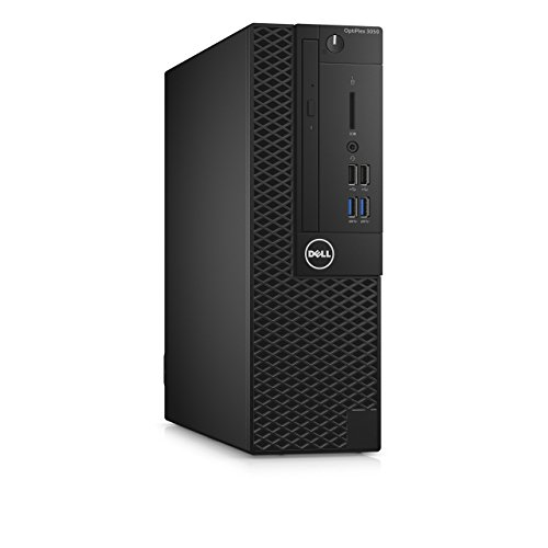 Dell 99K5T OptiPlex 3050 Small Form Factor Desktop Computer, Intel Core i5-7500, 8GB DDR4, 256GB Solid State Drive, Windows 10 Pro (Renewed)