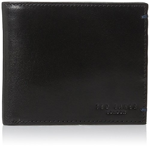 Ted Baker Men's Puzzle Wallet, black, One Size
