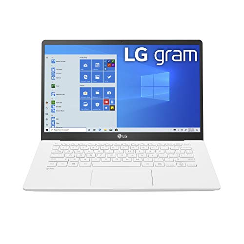 LG Gram Laptop - 14' Full HD IPS Display, Intel 10th Gen Core i5-1035G7 CPU, 8GB RAM, 256GB M.2 NVMe SSD, Thunderbolt 3, 18.5 Hour Battery Life - 14Z90N (2020) (14Z90N-U.ARW5U1)