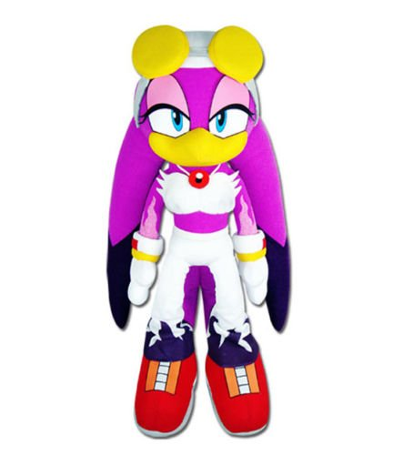 GE Animation 52678 Sonic The Hedgehog Wave The Swallow Stuffed Plush, 13'