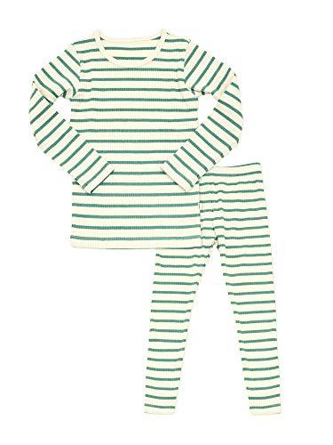 AVAUMA Baby Boys Girls Pajama Set 6M-8T Kids Cute Toddler Snug fit Pjs Cotton Sleepwear (Jam_Mint XL)