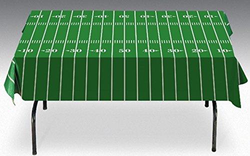 Gridiron Nation Football Field Tailgate Vinyl Tablecloth