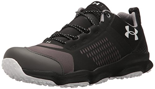 Under Armour Men's Speedfit Hike Low Boot, Black (002)/Charcoal, 8.5