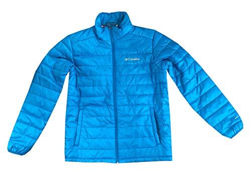 Columbia Mens Crested Butte II Omni-Heat Jacket (XL, Sky Blue)