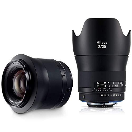 ZEISS Milvus ZF.2 2/35 Wide-Angle Camera Lens for Nikon F-Mount SLR/DSLR Cameras