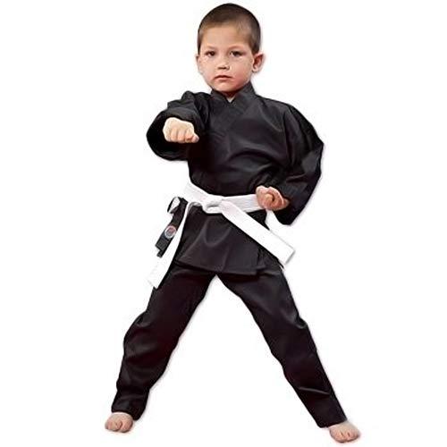 ProForce 6oz Student Karate Gi / Uniform - Black - Size 3