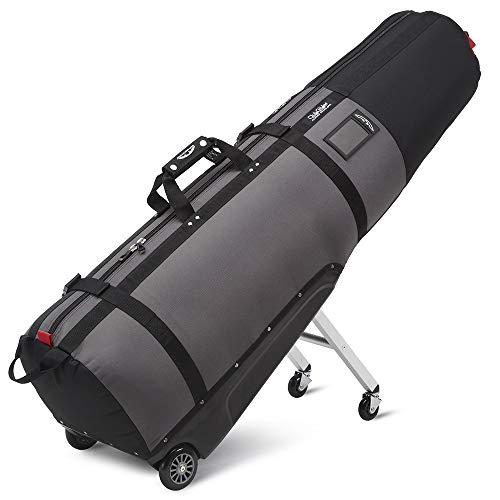 Sun Mountain Clubglider Journey Wheeled Golf Travel Cover Black/Grey