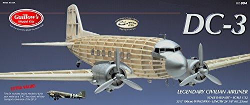 Guillow's Douglas DC-3 Model Kit