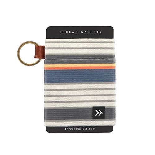 Thread Wallets - Slim Minimalist Wallet - Front Pocket Credit Card Holder for Men (One Size, Wander)