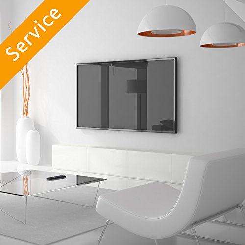 TV Wall Mounting - 66-80 inches, Customer Bracket, Cords Concealed in Cord Cover