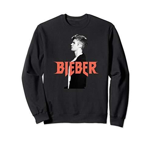 Justin Bieber Logo Profile Sweatshirt Sweatshirt