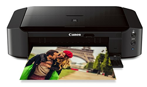 Canon IP8720 Wireless Printer, AirPrint and Cloud Compatible, Black, 6.3' x 23.3' x 13.1'