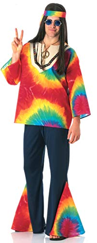 Rubie's Men's Psychedelic Sam Costume, As Shown, One Size