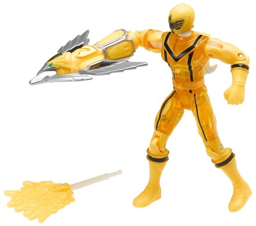 Power Rangers Mystic Force: Crystal Yellow 5' Action Figure