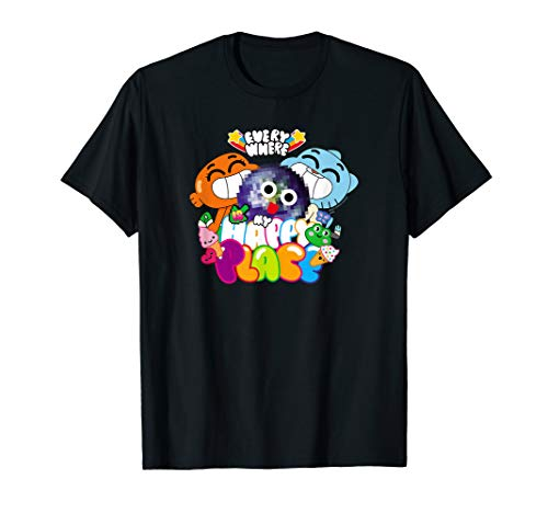 The Amazing World of Gumball Happy Place T-Shirt