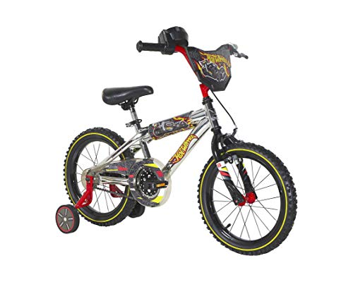 16' Hot Wheels Bike with Training Wheels and Rev' Grip