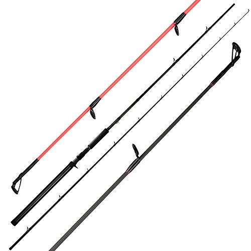 KastKing Krome Salmon and Steelhead Fishing Rods, Casting Alaska King Drifter - 9ft - Heavy-2pcs
