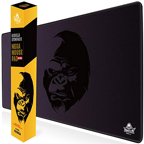 GORILLA STIMPACK 3XL Huge Mouse Pads Oversized Giant Mouse Pad (48''x24''x0.2'') - XXXL Extended Mousepad Full Desk Mat Suitable for Gamers