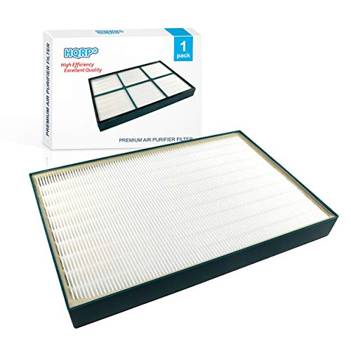 HQRP True HEPA Filter Compatible with Hunter 30938 QuietFlo Replacement