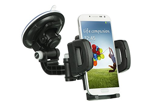 Coolpad Rogue Case, Customerfirst - Customerfirst, Heavy Duty Universal Car Mount Mobile Phone Holder Touch Windshield Dashboard Car Mount Holder for Coolpad Rogue (Car Mount)
