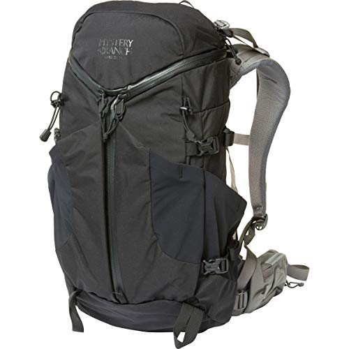 MYSTERY RANCH Coulee 25 Backpack - Daypack Built-in Hydration Sleeve, Black, SM/MD