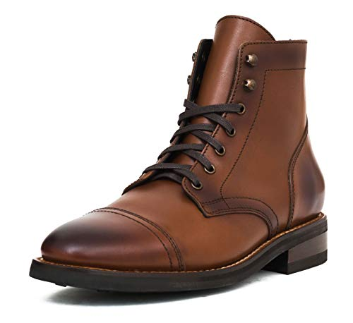 Thursday Boot Company Captain Men's Lace-up Boot, Brandy, 9.5 M US
