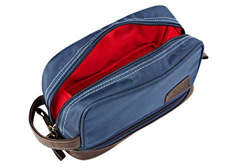 Toiletry Bag Large Blue and Red