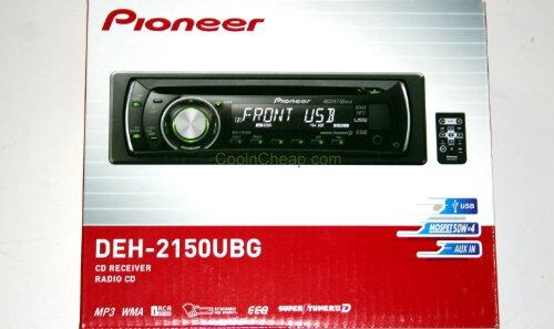 Pioneer DEH-2150UBG CD/WMA/MP3 Player/USB Receiver