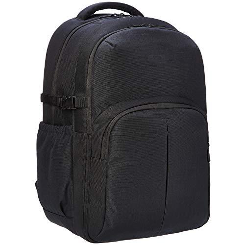 AmazonBasics Urban Laptop Backpack, 15 Inch Notebook Computer Sleeve, Black