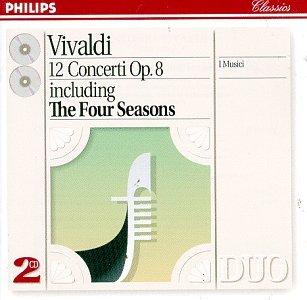 Vivaldi: 12 Concerti Op. 8 including 'The Four Seasons'
