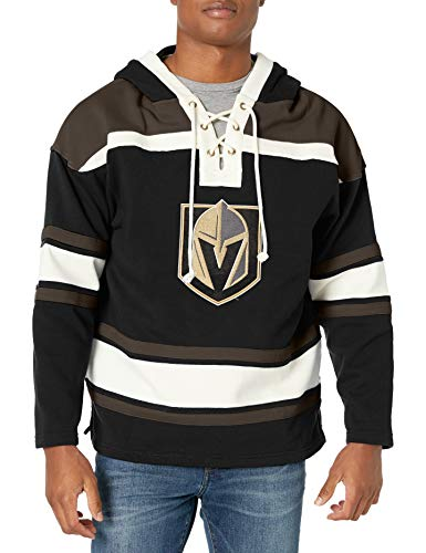 OTS NHL Vegas Golden Knights Men's Lacer Pullover Hoodie, Logo, Large