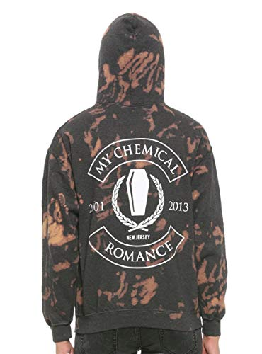 My Chemical Romance Coffin Bleach Washed Hoodie