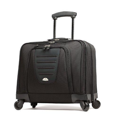 Samsonite Mobile Office Spinner Wheeled Briefcase, Black, One Size